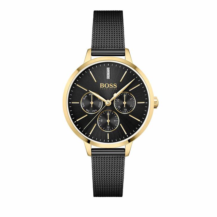 watches, Boss, Watch Symphony Multi Black