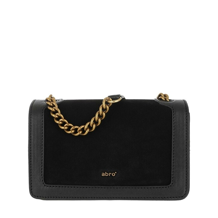 Handtasche, Abro, Crossbody Bag Frame Small Black