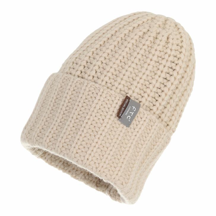 hats, FTC Cashmere, Beanie Oatmeal