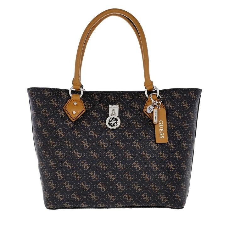 Handtasche, Guess, Jensen Society Tote Brown