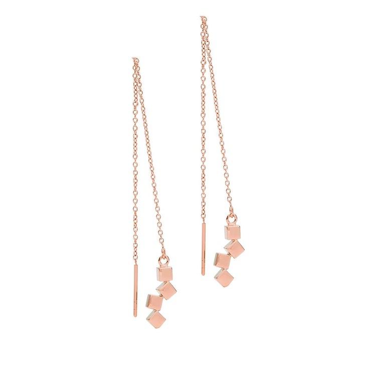 earrings, COEUR DE LION, Pierced Earrings Rose Gold