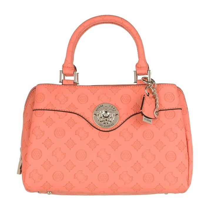 Handtasche, Guess, Dayane Satchel Bag Coral
