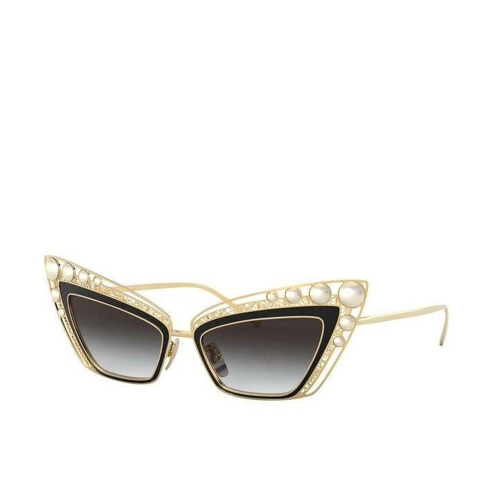 Sonnenbrille, Dolce&Gabbana, Women Sunglasses Origin 0DG2254H Gold/Black