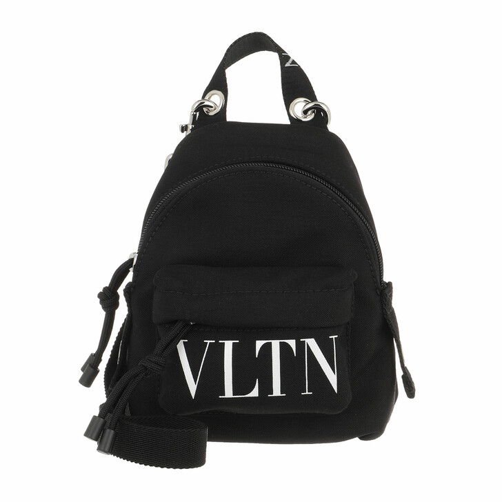 bags, Valentino Garavani, Men Mini Crossbody Backpack Black
