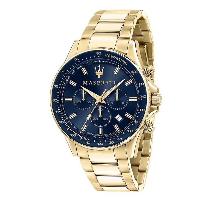 Uhr, Maserati, Sfida 44mm gold