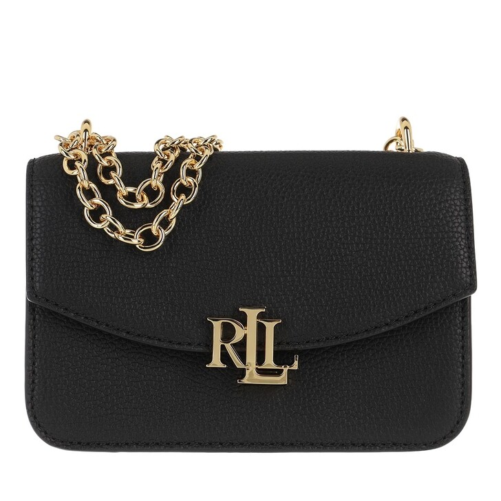 Handtasche, Lauren Ralph Lauren, Madison 19 Crossbody Small Black