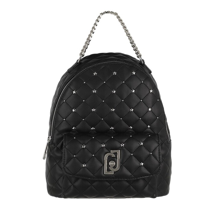 Reisetasche, LIU JO, Medium Backpack Nero