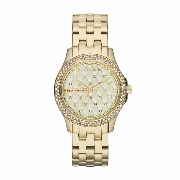 Uhr, Armani Exchange, AX5216 Ladies Lady Hampton Watch Gold