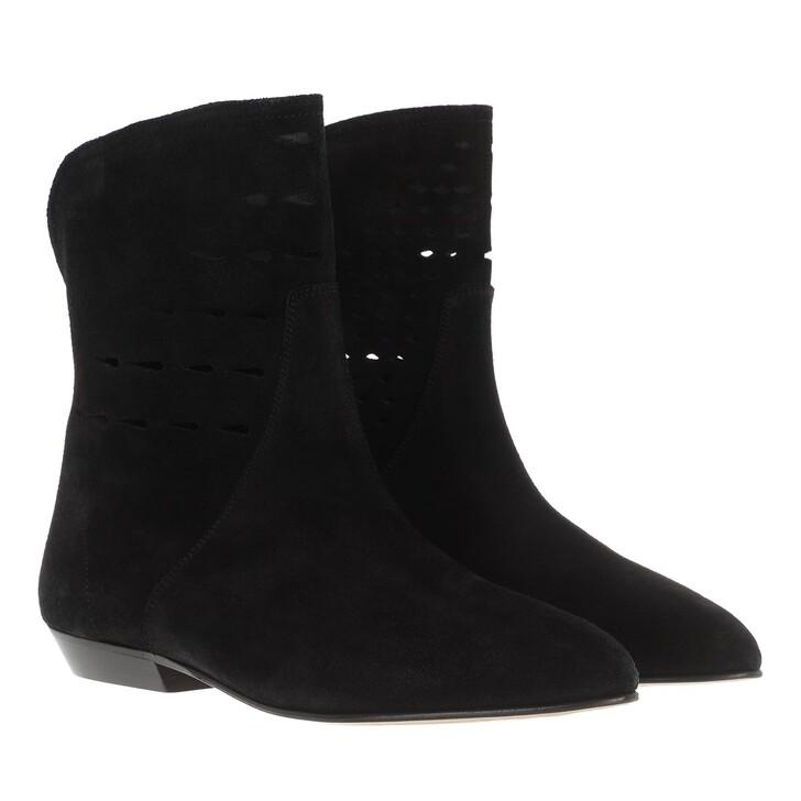 Schuh, Isabel Marant, Sprati Ankle Boots Black