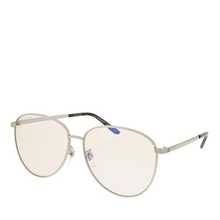 sunglasses, Gucci, GG0945Sa-005 60 Sunglass Unisex Photocromatic Lens & Blue Blocker Silver-Yellow