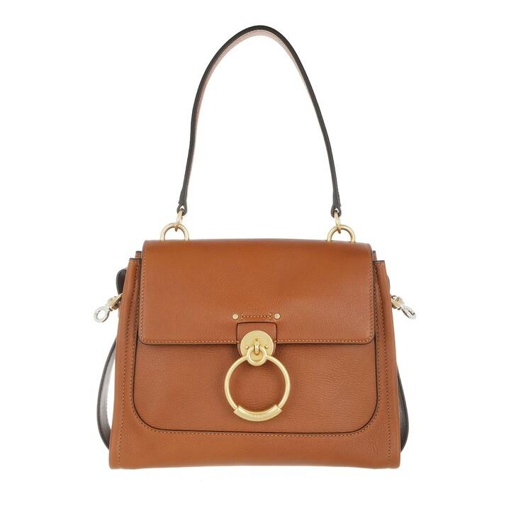 Handtasche, Chloé, Tess Day Bag Small Caramel
