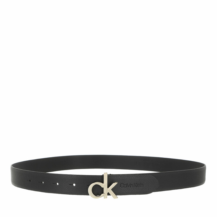 Gürtel, Calvin Klein, CK Logo Belt 30mm Black