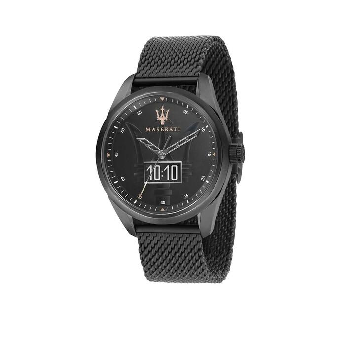 Uhr, Maserati, TRAGUARDO SMART 45MM Black