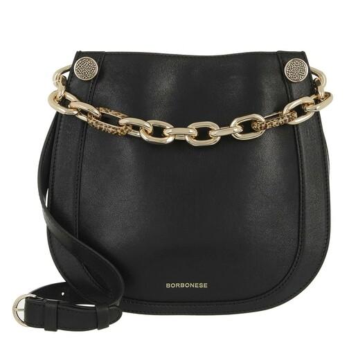 borbonese -  Shopper - Small Shoulder Bag - in schwarz - für Damen