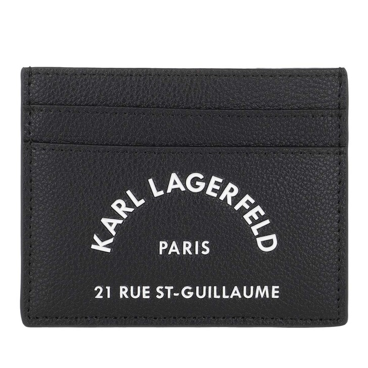 Geldbörse, Karl Lagerfeld, Rue Saint Guillaume Classic Black