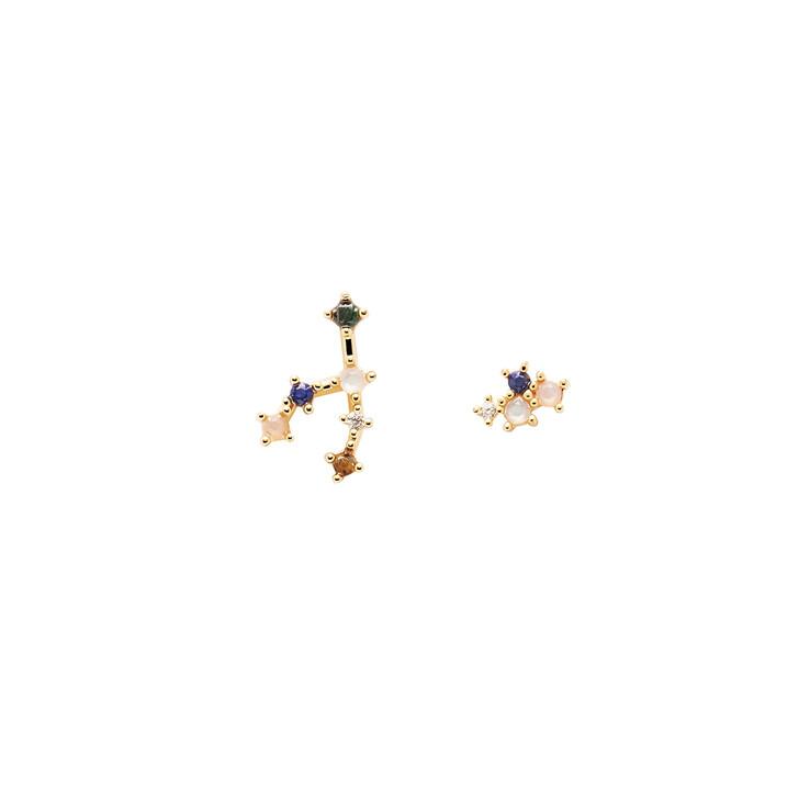 Ohrring, PDPAOLA, Earrings TAURUS Yellow Gold