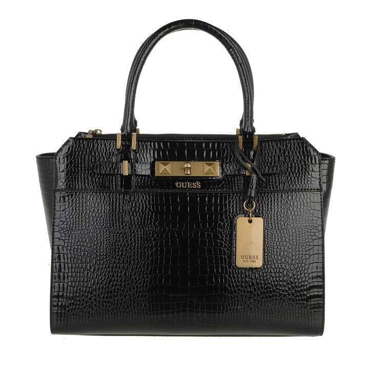 bags, Guess, Raffie Carryall Black