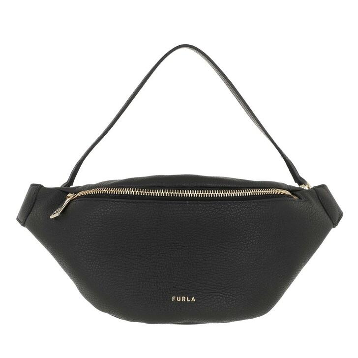 Handtasche, Furla, Furla Net S Belt Bag Nero
