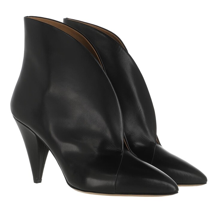 Schuh, Isabel Marant, Arfee Ankle Boots Leather Black