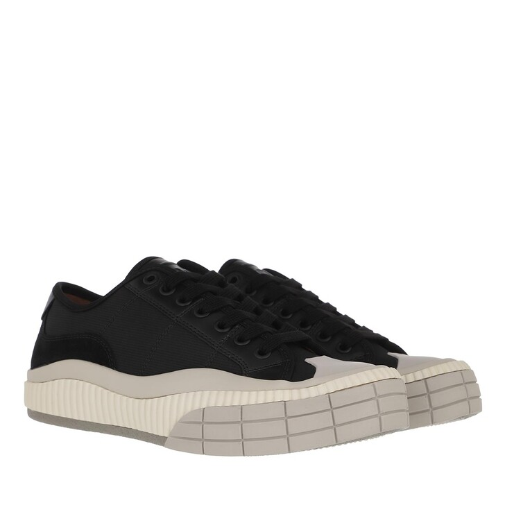 Schuh, Chloé, Clint Low Top Sneakers Leather Black