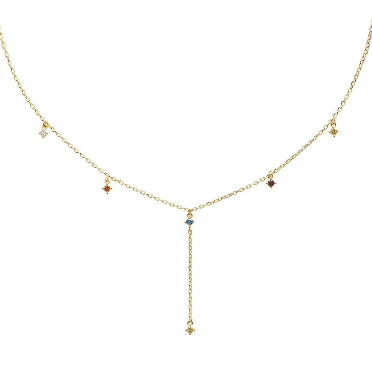 necklaces, PDPAOLA, Necklace Mana Yellow Gold