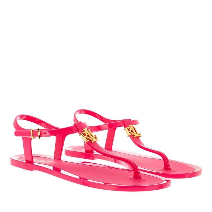 Schuh, Lauren Ralph Lauren, Ashtyn Sandals Casual Bright Pink