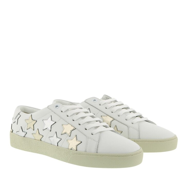 Schuh, Saint Laurent, Court Classic SL06 California Sneakers Optic White