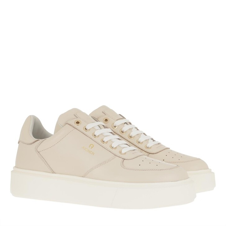 Schuh, AIGNER, Sally Sneaker Off White