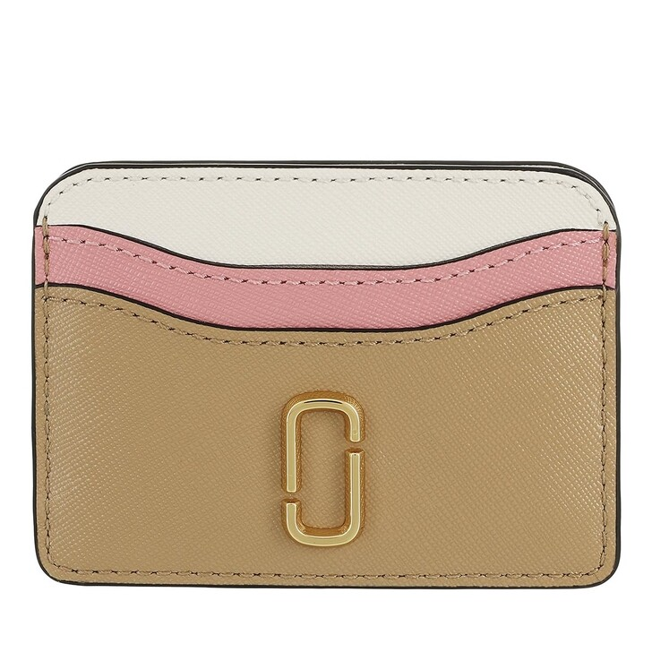 wallets, Marc Jacobs, The Snapsot Card Case New Sandcastle Multi
