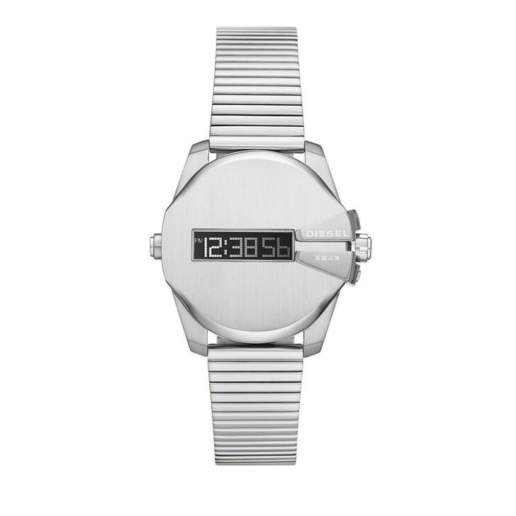 watches, Diesel, Baby Chief Digital Stainless Steel Watch Silver