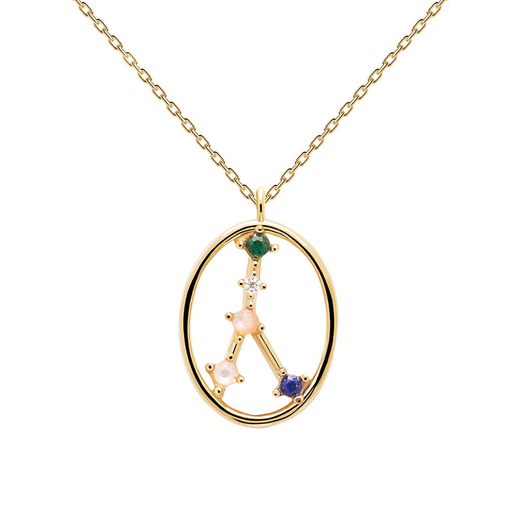 Kette, PDPAOLA, Necklace CANCER Yellow Gold