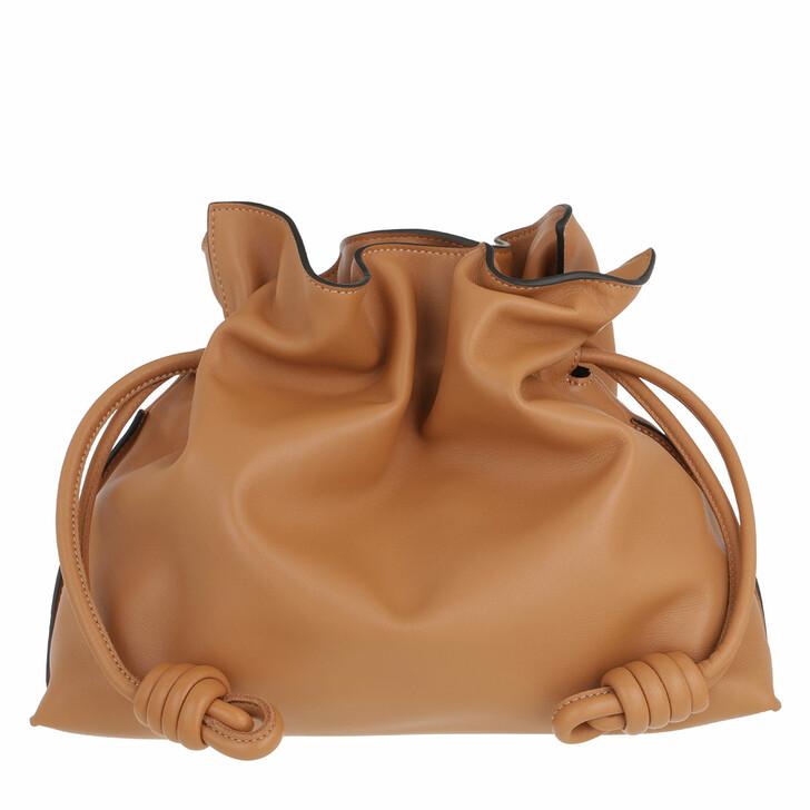 bags, Loewe, Medium Flamenco Clutch Warm Desert