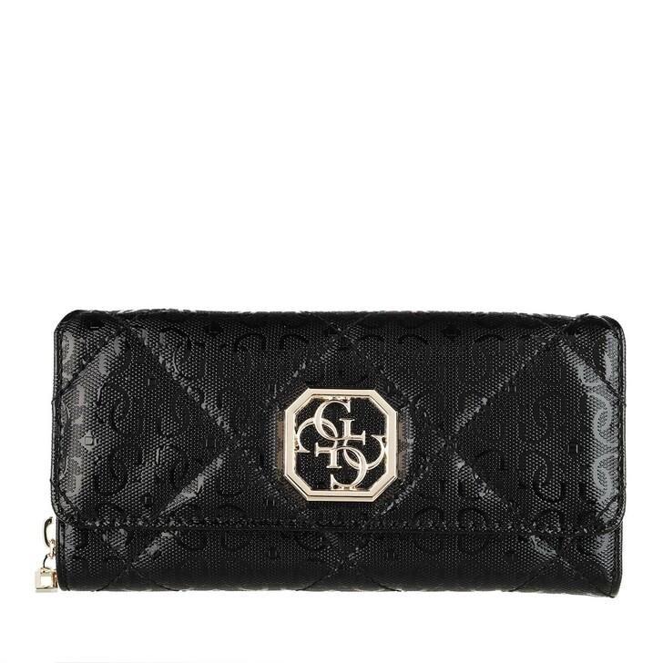 Handtasche, Guess, Dilla Large Clutch Black