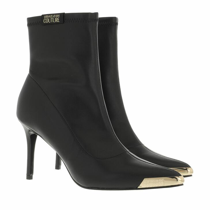 shoes, Versace Jeans Couture, Boots Black