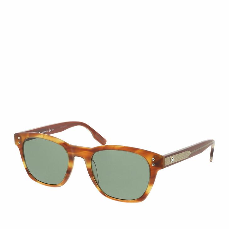 Sonnenbrille, Montblanc, MB0122S-002 51 Sunglass MAN ACETATE Havana