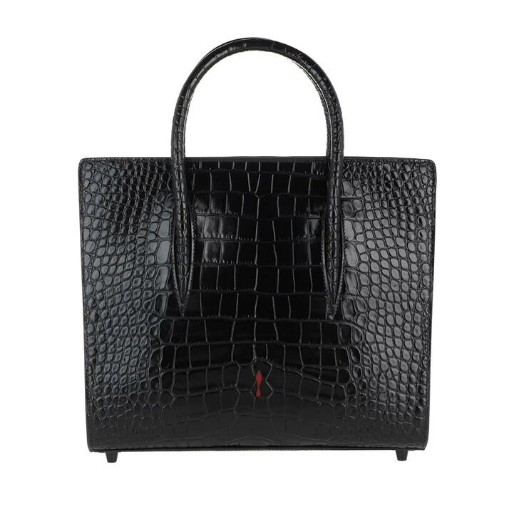 Handtasche, Christian Louboutin, Paoloma Medium Crossbody Bag Leather Black