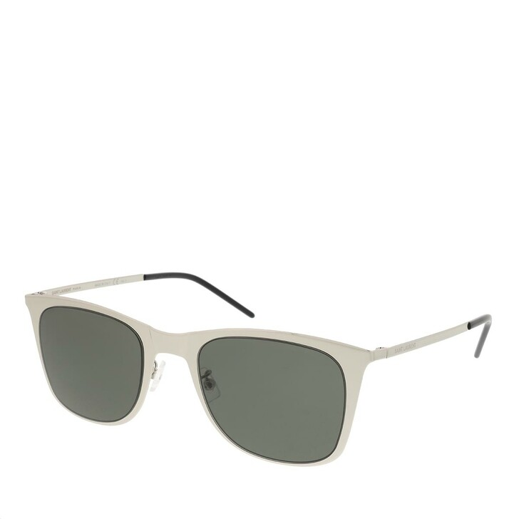 Sonnenbrille, Saint Laurent, SL 51 SLIM METAL-003 51 Sunglass UNISEX SILVER