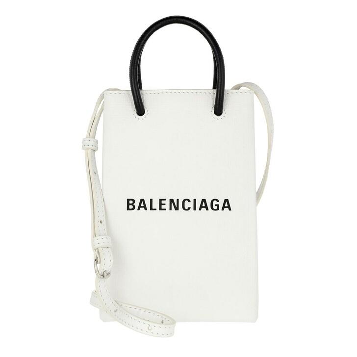smart_cases, Balenciaga, Shopping Phone Holder Bag Leather