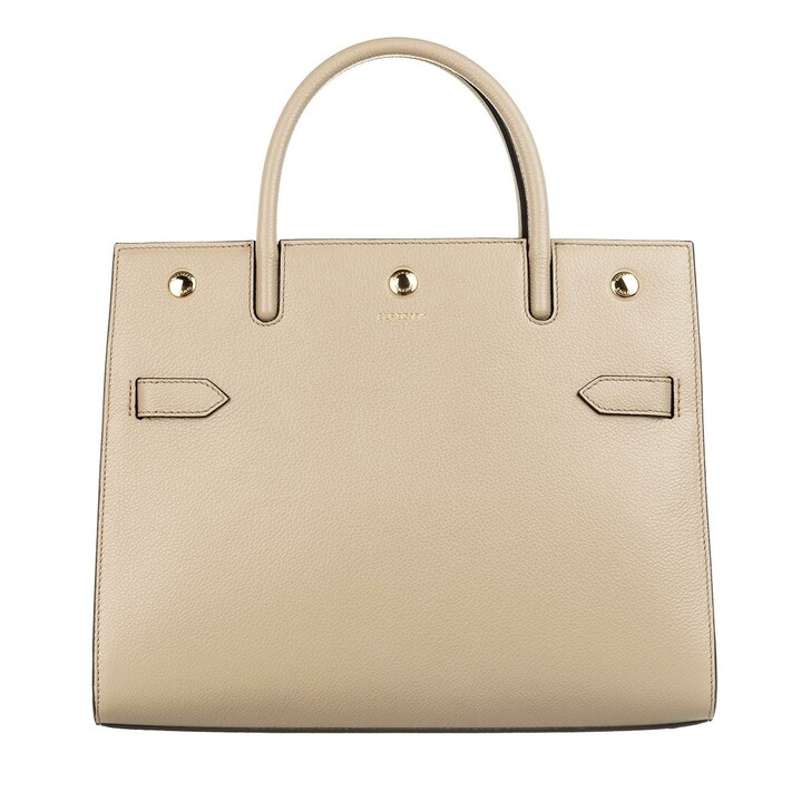 bags, Burberry, Tote Bag Leather Light Beige