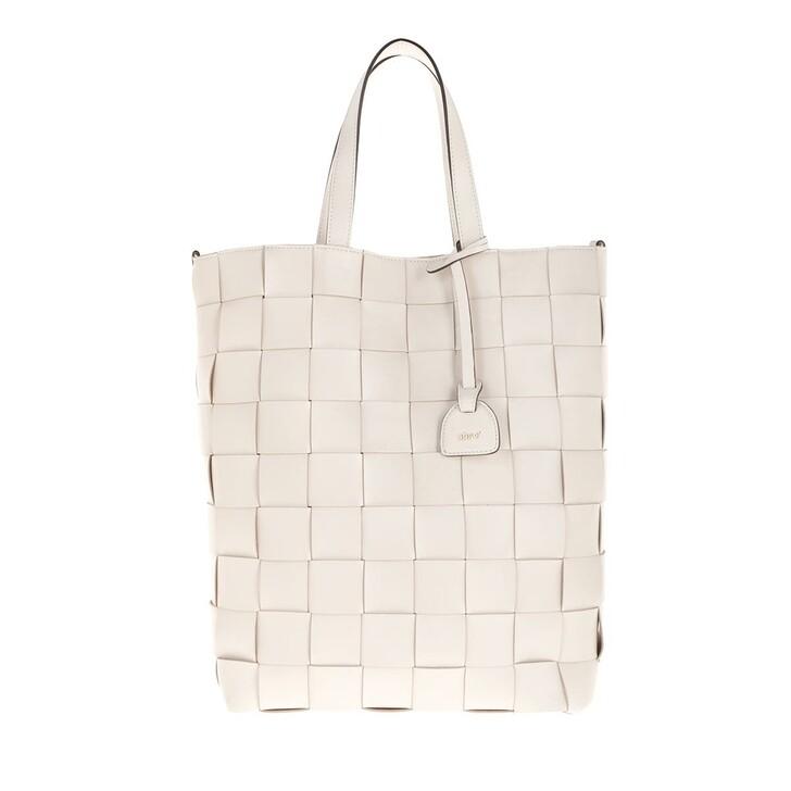 Handtasche, Abro, Shopper Chessboard Ivory