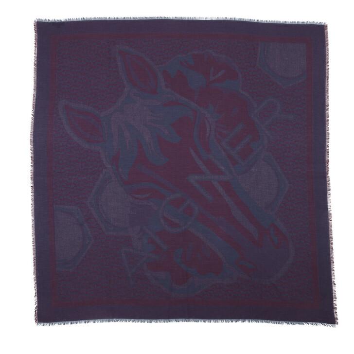 Schal, AIGNER, Grandfoulard Deep Blue