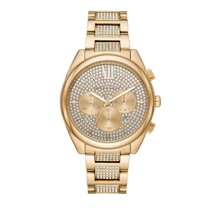 Uhr, Michael Kors, Janelle Chronograph Stainless Steel Gold