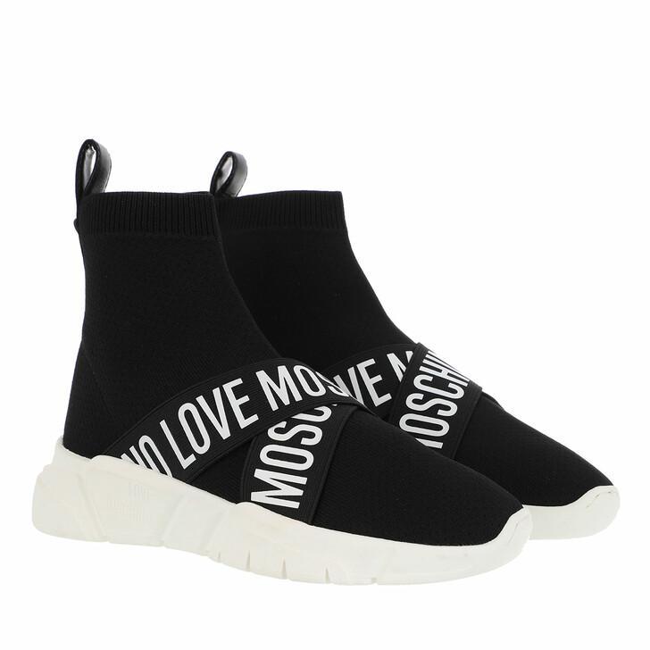 shoes, Love Moschino, Sneakerd Running35 Calza Nero