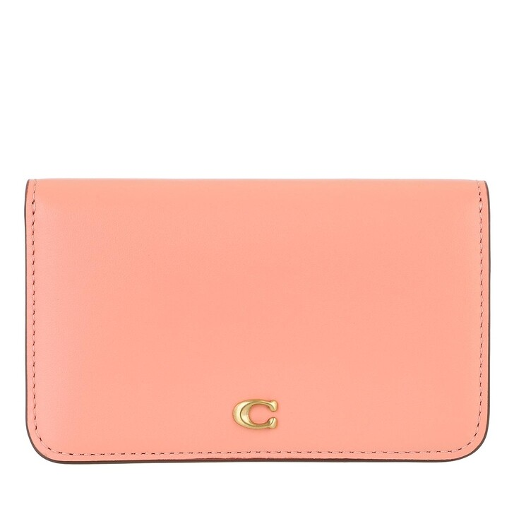 wallets, Coach, Colorblock Slim Card Case Candy Pink