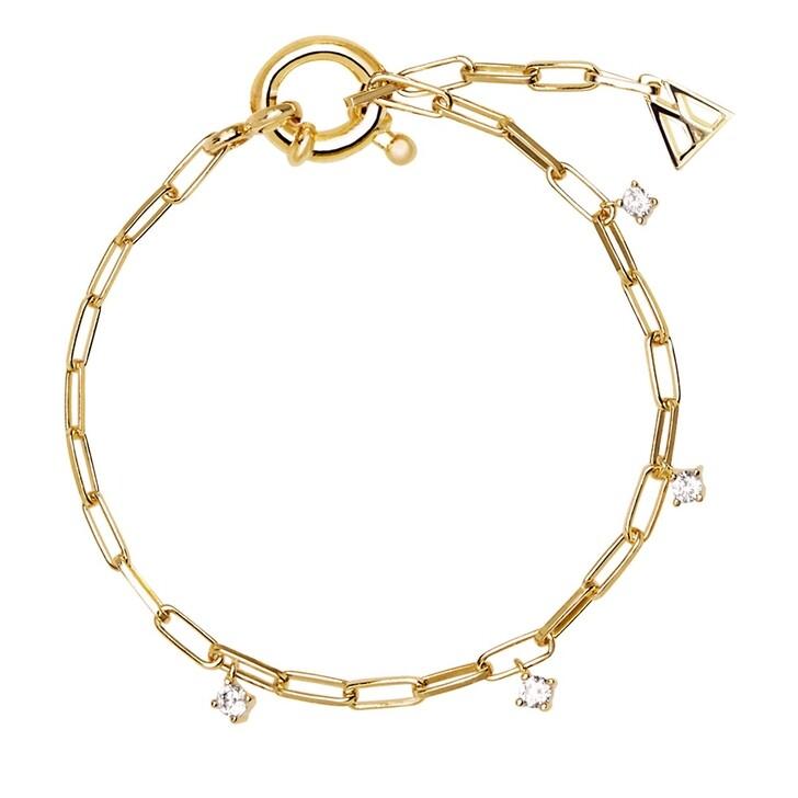 bracelets, PDPAOLA, Gina Bracelet Yellow Gold
