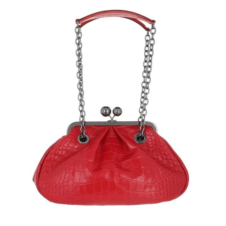 bags, WEEKEND Max Mara, Ovatta Handbag Red