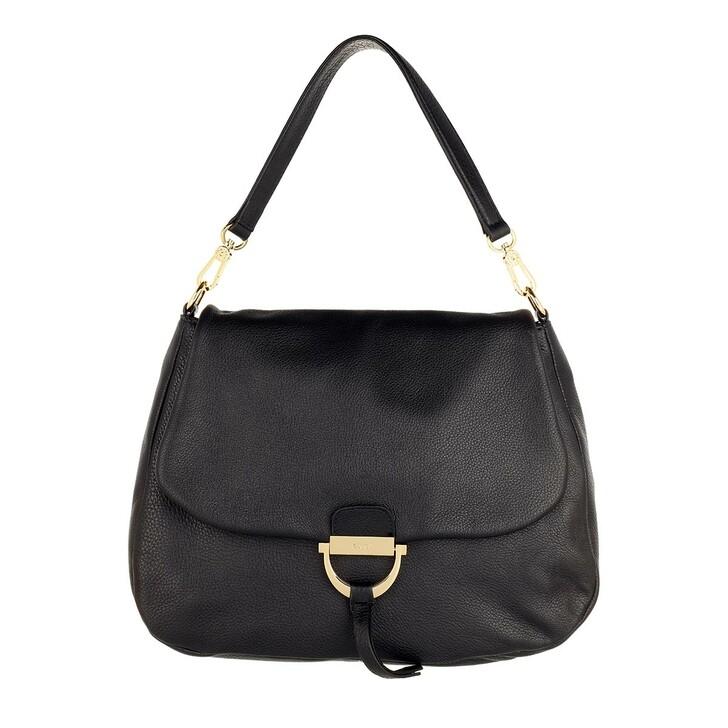 Handtasche, Abro, Shoulder Bag Temi Maxi Black