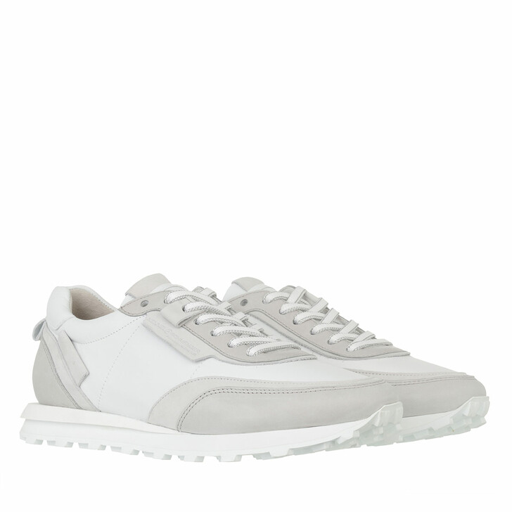 shoes, Kennel & Schmenger, Icon Sneaker Leather         Light grey