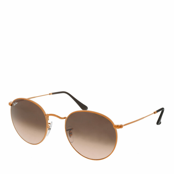 Sonnenbrille, Ray-Ban, Round Metal RB 0RB3447 53 9001A5