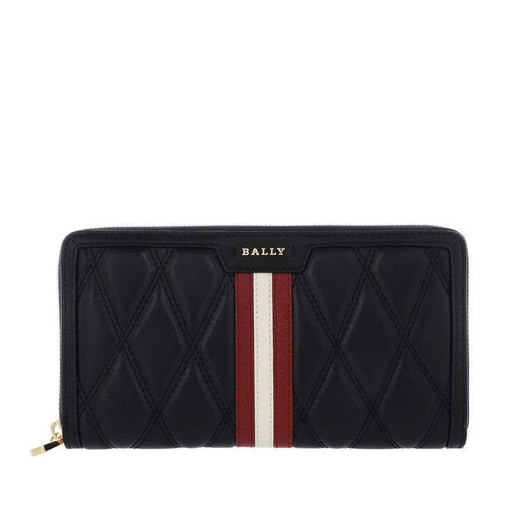 Geldbörse, Bally, Dalen Zip Around Black